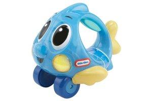 MGA Entertainment Push 'n Glow Fish Blauw