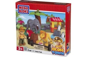 Mega Bloks bloktown medium speelset dieren