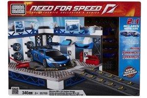 Mega Bloks NFS McLaren Custom Garage