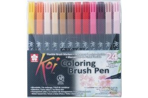 Sakura Koi Coloring Brush Pen - 24stuks