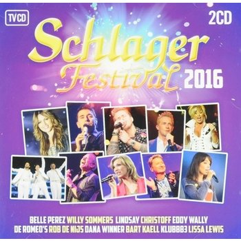 CD Schlagerfestival 2016