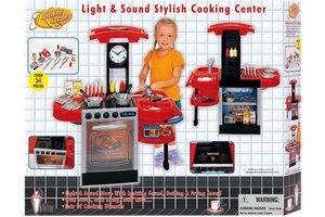 Winner Toys Keuken met licht/geluid (74x35x84cm)