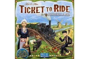 Asmodee Ticket to Ride - Map Collection Vol. 4 - Nederland