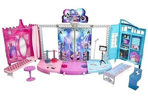 Mattel Rock n ryl stage barbie