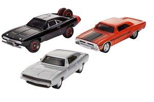 Mattel Fast & Furious 8 - Diecast 3-pack