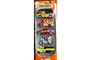 Mattel Matchbox Fire Rescue - 5-pack