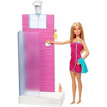 Mattel Barbie - Douche + pop