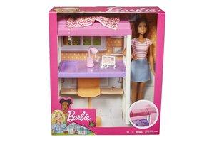 Mattel Barbie - Studentenkamer + pop