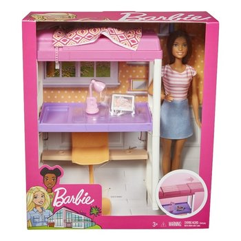 Mattel Barbie - Studentenkamer + pop