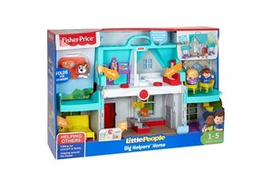 Mattel Fisher-Price Little People - Handige helpers huis