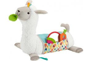 Mattel Fisher-Price Grow-with-Me Tummy Time Lama