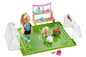 Mattel Barbie Chelsea Soccer Playset