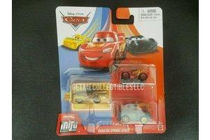 Mattel Disney Cars - Metal Mini Racers 3-pack