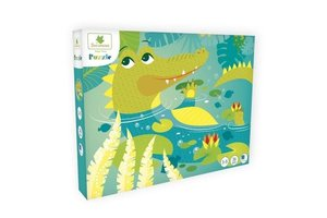 Puzzel (36stuks) - Krokodil (3-5jaar)