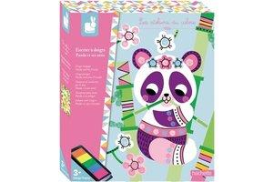 Juratoys Inktpot voor vingers - Panda en zijn vriendjes