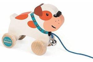 Juratoys Zigolos - Trekfiguur bulldog