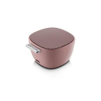 Bluetooth draagbare speaker met selfie functie - pink
