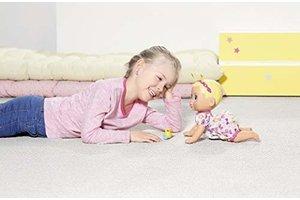 Zapf BABY Born - Funny Faces Crawling Baby