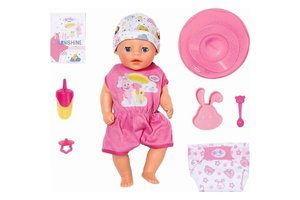 Zapf BABY Born - Soft Touch Little Girl 36cm