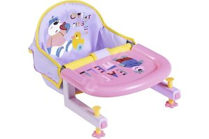 Zapf BABY Born - Table Feeding Chair