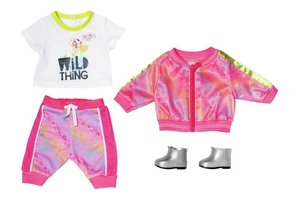 Zapf BABY Born - Deluxe Trendy Set 43cm (roze)
