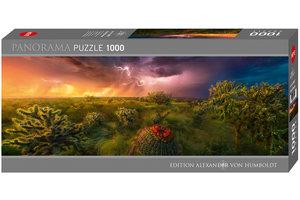 Puzzel (1000stuks) - Stormy Horizon Panorama
