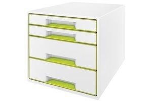 Esselte WOW desk cube 4 laden wit/groen