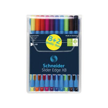 Balpen Schneider Slider Edge XB Etui 8stuks + 2 GRATIS