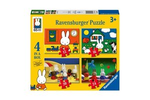 Ravensburger Puzzel 4-in-1 (12/16/20/24stuks) Nijntje - Nijntjes 65ste verjaardag