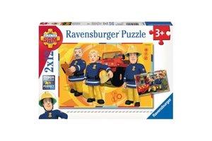 Ravensburger Puzzel (2x12stuks) Sam aan het werk