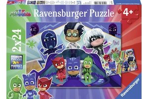 Ravensburger Puzzel (2x24stuks) PJ Masks komen ter hulp