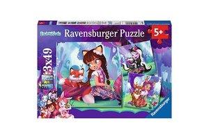 Ravensburger Puzzel (3x49stuks) - Enchantimals World!