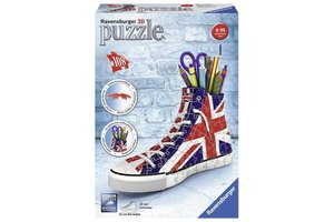Ravensburger 3D Puzzel (108stuks) - Sneaker Union Jack