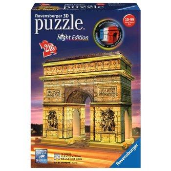 Ravensburger 3D Puzzel (216stuks) - Arc de Triomphe - Night Edition
