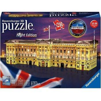 Ravensburger 3D Puzzel (216stuks) - Buckingham Palace (London) - Night Edition