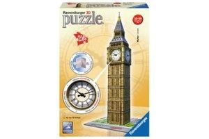 Ravensburger 3D Puzzel (216stuks) - Big Ben met klok