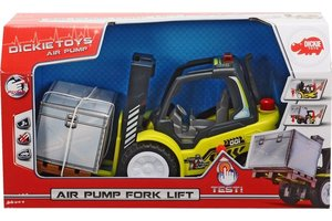 Dickie Toys Air Pump Heftruck + pallet - 27cm