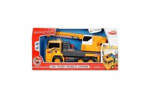 Dickie Toys Air pump mobile crane MAN 31cm