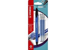 Stabilo Stabilo Gel Exxx - blauw + 3 vullingen