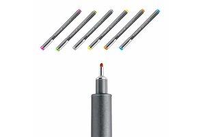 staedtler Pigment Liner 0,5mm - 6stuks