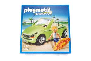 Playmobil PM cabrio met surfer