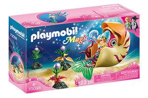 Playmobil PM Zeemeermin met zeeslakkengondel