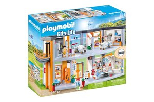 Playmobil PM Groot ziekenhuis met inrichting