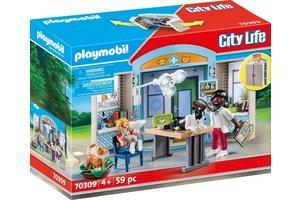 Playmobil PM Speelbox Dierenarts