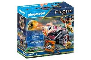 Playmobil PM Piraat met kanon