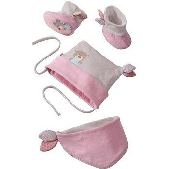 Haba babyset knuffelvrienden roze