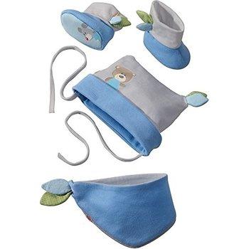 Haba babyset knuffelvrienden blauw