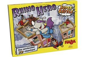 Haba Stapelspel - Rhino Hero 3D