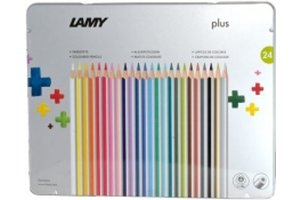Lamy Lamy Plus kleurpotloden in metalen box - 24stuks