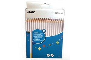 Lamy Lamy Kleurpotloden colorplus met lichtechte kleurpigmenten - 36stuks